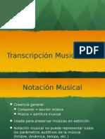 6. Transcripción musical