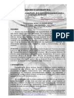 DERECHO Y LITERATURA / LAW AND LITERATURE