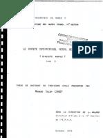 Mohand Salem CHAKER, Le système dérivationnel verbal berbère (dialecte kabyle) – Thèse de Doctorat 3e cycle, 1973. Tome II