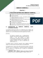 2003 - Clase 001 - Evolución Histórica Del Derecho Comercial.303171618