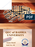 QEC of BAHRIA UNIVERSITY.pptx