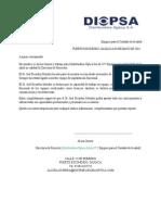 Carta de Recomendacion 2013