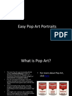 pop art tutorial for project