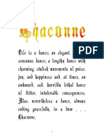 Final Version of Chaconne. Finished, Edited Version, Including Page Breaks for Newsarticles