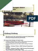 Aspek Lingk Kuliah 6