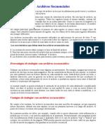 Estructura de Datos-Archivos Secuenciales