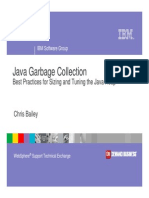 IBM Java Garbage Collection Tuning