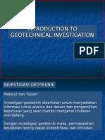 Site Investigation Presentation