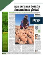 Publimetro - 27-05-2015 - La Papa Peruana Desafía Al Calentamiento Global