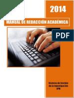 2015 Consulta Manual de Redacción -UPN
