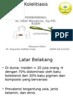 PPT Kolelitiasis