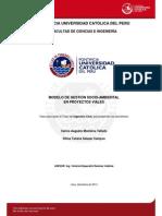 Modelo Gestion Socio Ambiental Proyectos Viales
