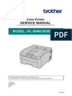 Hl3040cn Manual de Servicos
