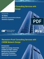 CWDM Network Design