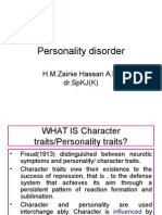 Disorder of Personality and Behavior