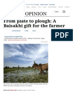 From Plate to Plough_ a Baisakhi Gift for the Farmer _ the Indian Express _ Page 99