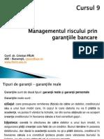 Cursul 9_Garantiile Bancare