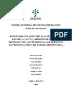 Monografia Satelite Telecomunicaciones