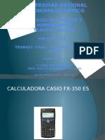 Calcula Dora Casio Fx