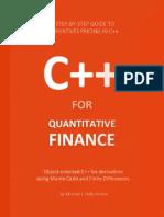 Cpp Quant Finance eBook 20131003