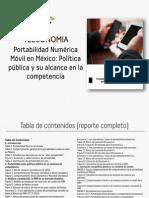 Portabilidad Numérica Móvil en México