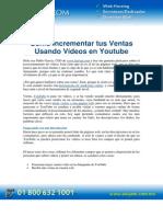 PDF Como Incrementar Tus Ventas Usando Videos en Youtube