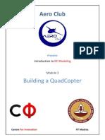 AeroClub Module6 QuadCopter DesignConstruction