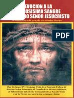 Debocion a La Preciosisima Sangre de Nuestro Señor Jesucristo