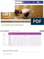 Semana Del Cafe Recetas
