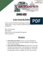 The Daily Rundown - Summer Guide 2012