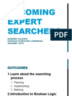 iSci Expert Search Jan 2010