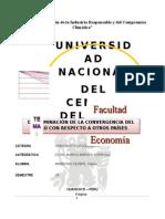 Determinación de La Convergencia Del Perú Con Respecto a Otros Países