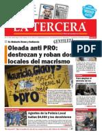 Diario La Tercera 27.05.2015
