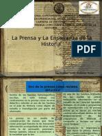 Prensa y La Enseñanza de La Historia
