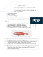 projet de recherche aquatique