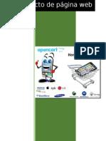 Como configurar y crear una pagina web con open cart