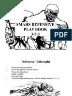 SMAHS FB Defensive Playbook