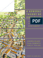 A General Theory of Urbanism