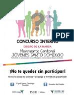 """Bases Concurso diseño de marca """"Movimiento Cantonal Jóvenes Santo Domingo"""""""