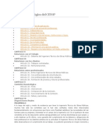 Código Deontológico Del CITOP