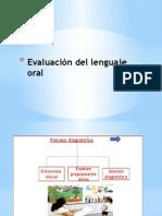 evaluación lenguaje