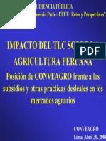 Impacto Del TLC SOBRE La Agricultura Peruana
