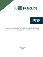 Orientações de Normalização Para a Elaboração Da Monografia
