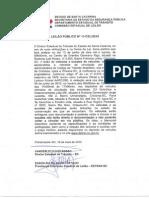 Edital Leilão 11.CEL.2015 - Criciúma - Içara - Orleans - Publicado Em 20 de Maio de 2015