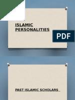 Slides Islamic Personalities