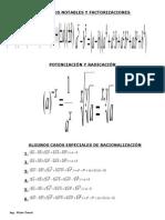 Tabla de Derivadas e Integrales (Ing. Víctor Trocel)