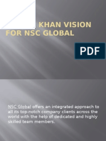 Yaseen Khan Vision for NSC Global