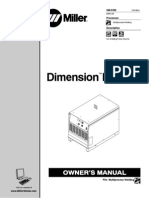 Miller Dimension NT 450 Service Manual