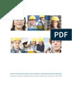 Programme d'accès à l'égalité des femmes dans l'industrie de la construction 2015-2024