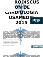 MACRODISCUSIÓN DE CARDIOLOGÍA USAMEDIC 2015.pptx
